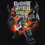 God Of Rock - Guitar Hero T-shirt