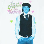 I'm Crushin On Kevin - Jonas Brothers Girls T-shirt