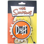 Duff Cap - Simpsons Belt Buckle