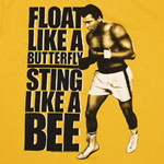 Float Like A Butterfly Sting Like A Bee - Muhammad Ali Sheer T-shirt