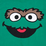Oscar Face Version 2 - Sesame Street T-shirt