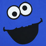 Cookie Monster Face Version 2 - Sesame Street T-shirt
