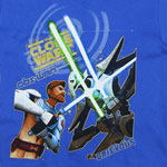 The Battle - Star Wars Clone Wars Juvenile T-shirt
