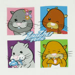 Character Grid - Zhu Zhu Pets Sheer Girls T-shirt