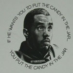 You Put The Candy In The Jar - Get Him To The Greek T-shirt
