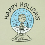 Happy Holidays - Charlie Brown - Peanuts T-shirt