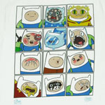 Faces Of Finn - Adventure Time T-shirt