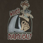 Who's Diabolical? - Phineas And Ferb Sheer T-shirt