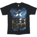 Captain America Costume - Marvel Comics T-shirt