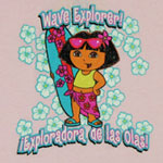 Wave Explorer - Dora The Explorer Toddler T-shirt