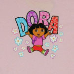 Dora Pattern - Dora The Explorer Youth T-shirt