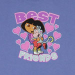 Best Friends - Dora The Explorer Youth T-shirt