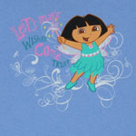 Let's Make Wishes Come True - Dora The Explorer Youth T-shirt