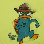 Chase Your Tail - Phineas And Ferb Sheer T-shirt