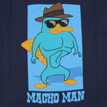 Macho Man - Phineas And Ferb Boys T-shirt