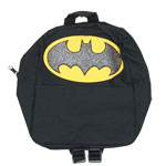 Batman Glittered Logo - DC Comics Mini-Backpack