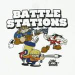 Battle Stations - Codename Kids Next Door T-shirt
