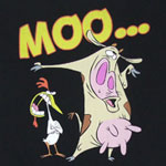 Moo... - Cow And Chicken T-shirt