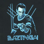Glowing Sheldon - Big Bang Theory T-shirt