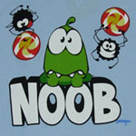 Noob - Cut The Rope T-shirt