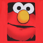 Big Face Elmo - Sesame Street T-shirt