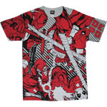 Deadpool All Over - Marvel Comics T-shirt