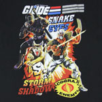 Snake Eyes Vs. Storm Shadow - G.I. Joe Sheer T-shirt