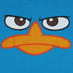 Perry Face - Phineas And Ferb Juvenile T-shirt