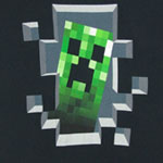Creeper Inside - Minecraft Sheer Women's T-shirt