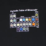 Periodic Table Of Minecraft - Minecraft T-shirt