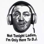 Not Tonight Ladies - Three Stooges T-shirt