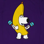 Brian Banana Costume - Family Guy T-shirt