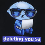Deleting You - Family Guy T-shirt