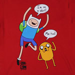 I'm On A Shirt - Adventure Time Youth T-shirt