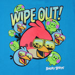 Wipe Out! - Angry Birds Youth T-shirt