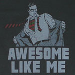 Awesome Like Me - Superman - DC Comics T-shirt