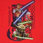 Framed Jedi - Star Wars The Clone Wars Juvenile T-shirt
