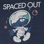 Spaced Out - Smurfs T-shirt