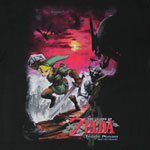 Link Vs. Skeletons - Nintendo T-shirt