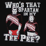 Who's That Spartan In My Tee Pee? - Saturday Night Live Sheer T-shirt