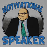 Motivational Speaker - Saturday Night Live Sheer T-shirt