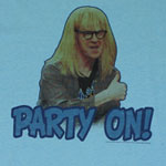 Party On! - Saturday Night Live Sheer T-shirt