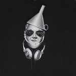 Tin Man Headphones - Wizard Of Oz T-shirt