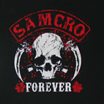 Samcro Forever - Sons Of Anarchy Sheer Women's T-shirt