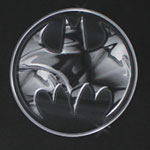 Batman Chrome Logo - DC Comics T-shirt