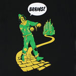 Brains! - Wizard Of Oz T-shirt