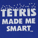 Tetris Made Me Smart - Tetris T-shirt