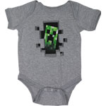 Creeper Inside - Minecraft Infant Onesie