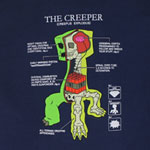 Creeper Anatomy - Minecraft Youth T-shirt