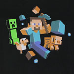 Run Away - Minecraft Youth T-shirt